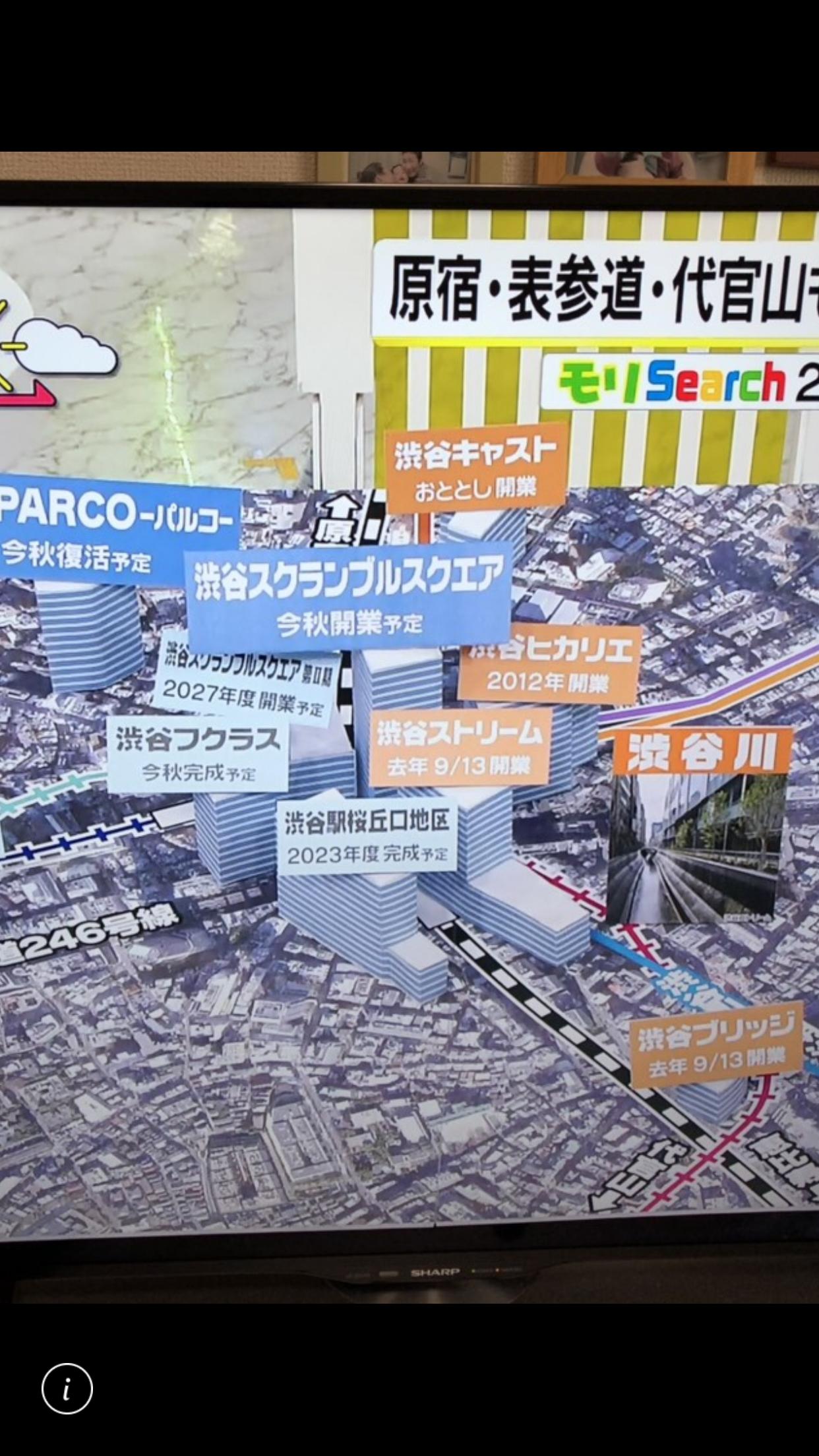 渋谷散歩行ってきました。